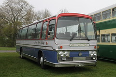 PNM 757M preserved Bedford YRQ / Plaxton Panorama Elite III - Great Ouse Valley (Ray's Photo Collection) Tags: detling bedford greatousevalley pnm757m heritage transport show maidstone kent england uk classic car southeast bus festival rally preserved yrq plaxton panorama elite iii