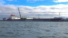 075 -1crpfwlconvib (citatus) Tags: dutch freighter beatrix unloading toronto harbour harbor eastern gap canada spring morning 2019 pentax k5 ii