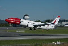 Norwegian - LN-NGU - B737-800 (Aviation & Maritime) Tags: lnngu norwegian norwegianairshuttle norshuttle boeing boeing737 b737 b737800 boeing737800 bgo enbr bergenairportflesland bergenlufthavnflesland bergen flesland