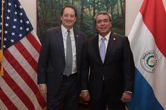 Despedida Hugo Rodríguez (laembajada) Tags: embajadadeestadosunidos paraguay hugo rodríguez lee mcclenny eeuu