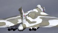 Vulcan (Bernie Condon) Tags: avro vulcan bomber raf royalairforce military warplane classic preserved vintage bombercommand strikecommand 1group vtts xh558 airshow aircraft plane flying aviation display