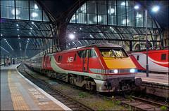91106, London Kings Cross (UK), 29/03/19 (bontybermo402) Tags: 91106 lner london kings cross newcastle east coast main line