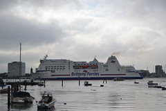 Brittany Ferries (Will Swain) Tags: portsmouth harbour 15th october 2018 bus buses transport travel uk britain vehicle vehicles county country england english south coast brittany ferries