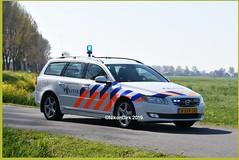 Dutch Police V70 Command Unit. (NikonDirk) Tags: traffic politie police nikondirk dutch utrecht volvo v70 nederland netherlands holland nikon cop cops hulpverlening anpr foto midden highway 8svr28