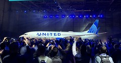 New United Livery (airbus777) Tags: unitedairlines livery priestmangoode boeing 737800 ua