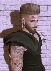 NoGo Joel Hair (Demon Redfield) Tags: secondlife hair men male new label nogo