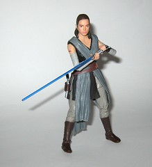 rey jedi training star wars the black series 6 inch action figure #44 the last jedi wounded right arm version variant hasbro 2017 r (tjparkside) Tags: rey jedi training wounded right arm variant version star wars black series 6 inch action figure 44 last hasbro 2017 episode eight 8 viii tlj bo staff blaster pistol lightsaber hilt blue grey luke skywalker ahchto ahch basic figures