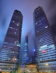 Shanghai - No lights, but clouds (cnmark) Tags: china shanghai pudong lujiazui financial district ifc 2ifc hsbc hong kong bank corporation 汇丰银行 building tower shopping mall modern architecture skyscraper night light 中国 上海 浦东 陆家嘴 世纪大道 国金中心 商场 汇丰银行大厦 摩天大 wolkenkratzer gratteciel grattacielo rascacielo arranhacéu nacht nachtaufnahme noche nuit notte noite gebäude city cityscape ©allrightsreserved