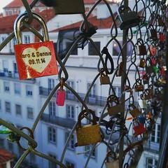 Love in Lisbon 🔒 (ARnnO PLAneR) Tags: love lisboa lisbon lisbonne portugal santajusta cadenas