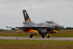 Jack Sparrow (nxgphotos) Tags: aircraft belgianairforce landivisau lockheedf16am military ntm2017 tiger 31sqn