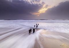 Cambois Beach (Alex365pix) Tags: cambois blyth seascapes sunrise sea groyne le leefilters landscape nikon northumberland northeastcoast benro beach
