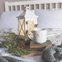 white ceramic mug and wooden candle holder - Credit to https://myfriendscoffee.com/ (John Beans) Tags: coffee cafe coffeebeans shopbeans espresso coffeecup cup drink cappucino latte