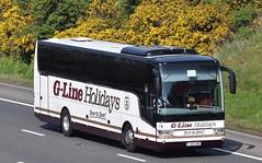 YJ65GME  G Line, Lytham St Annes (highlandreiver) Tags: yj65gme yj65 gme g line coaches lytham st annes van hool tx bus coach m6 wreay carlisle cumbria