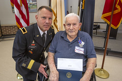 190424-Z-AL508-1112 (NJ Department of Military and Veterans Affairs) Tags: worldwarii greatestgeneration newjerseyveteransmemorialhomeatparamus veteran veterans service newjerseydepartmentofmilitaryandveteransaffairs njdmava newjerseydistinguishedservicemedal statemedalceremony award recognition nj newjersey stateofnewjersey usarmy army usa soldier soldiers usnavy navy usn seaman seamen usmarinecorps marinecorps usmc marine marines uscoastguard uscg ususcoastguardmerchantmarine paramus us
