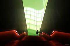 Stairway (stefano.chiarato) Tags: museo mudec milano lombardia italy cultura luce lights scalinata stairway interni geometria architettura architecture pentax pentaxk70 pentaxlife pentaxflickraward