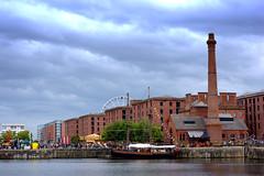 At Royal Albert Dock Liverpool (Tony Worrall) Tags: liverpool merseyside scouse architecture building city tourist albert dock royalalbertdockliverpool
