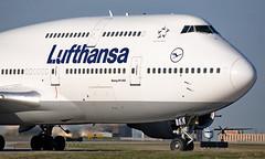 D-ABTK - Boeing 747-430 - YYZ (Seán Noel O'Connell) Tags: lufthansa dabtk boeing 747430 b747 b744 747 torontopearsoninternationalairport lh471 dlh471 fra eddf aviation avgeek aviationphotography planespotting