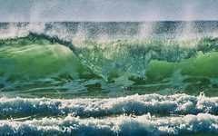Aquamarine (Ray Mines Photography) Tags: oregon last ocean pacific sea water teal green blue nature seascape afternoon ngc