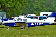 G-ASHX   Piper PA-28-180 Cherokee B [28-1266] Popham~G 05/05/2007 (raybarber2) Tags: 281266 airportdata cn281266 eghp flickr gashx planebase raybarber single ukcivil filed