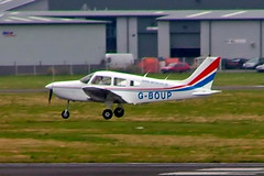 G-BOUP   Piper PA-28-161 Warrior II [2816059] Staverton~G 15/03/2005 (raybarber2) Tags: 2816059 airportdata cn2816059 egbj flickr gboup johnboardleycollection planebase single ukcivil filed