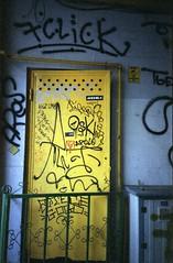 (Bucuresci Cartel) Tags: konica fx70 expired vista iso400 street buchrest graff lifestyle spraycans paint walls writing surfaces 35mm film analog photography shootfilmstaybroke archive