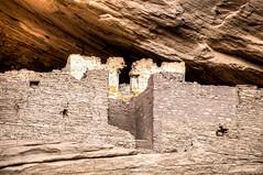 Red and White (RoamingTogether) Tags: 70200vrii arizona beautywayjeeptours canyondechellynationalmonument chinle hdr nationalmonument nationalpark nikon nikon7020028 nikond700 ruin whitehouseruins