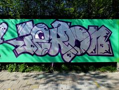 Skatezone - Iekon (oerendhard1) Tags: graffiti streetart urban art rotterdam oerendhard skatezone iekon