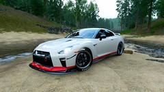 Nissan GT-R 35 (Skyvlader) Tags: nissan gtr 35 forza horizon iv 4 xbox x s one microsoft turn10 game captures capture mclaren photography design screenshoots