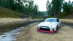 Nissan GT-R 35 (Skyvlader) Tags: nissan gtr 35 forza horizon iv 4 xbox x s one microsoft turn10 game captures capture mclaren photography design screenshoots