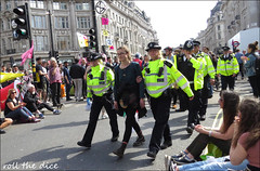 `2597 (roll the dice) Tags: london westminster westend w1 oxfordstreet police coppers arrest pc uniform streetphotography sad mad surreal people fashion helmet crowd busy pretty soft england urban unaware unknown hairy uk classic art portrait strangers candid canon tourism media tourists extinctionrebellion traffic sunny dirty protest nicked climate ecological rebel women lesbians lefties scotlandyard easter block activists protesters lights anger smile happy blonde roundel tube planet nuts soap