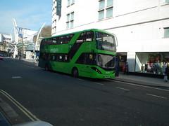 39401, Bristol, 12/04/19 (aecregent) Tags: bristol 120419 first firstbristol firstwestofengland scania n280ud gasbus biogasbus enviro400city 39401 yn17ohp 2