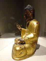DSC03170 (Akieboy) Tags: buddha statue carving sculpture man male gilt gold asia lacma art asianartspavilion