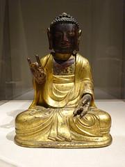 DSC03167 (Akieboy) Tags: buddha statue carving sculpture man male gilt gold asia lacma art asianartspavilion