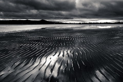 velvet vinyl (-dubliner-) Tags: velvetstrand portmarnock dublin coast beach landscape reflection lowtide line