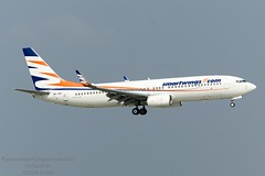 OK-TSF Boeing 737-8GJWL (Jersey Airport Photography) Tags: boeing 7378gjwl oktsf b738 smartwings egjj jer