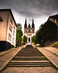 Angers (Naeho) Tags: angers metropole nuit night mine eglise moyen âge pont lumière jardin chateau ardoise