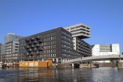 Amsterdam2014_285 (schulzharri) Tags: amsterdam holland niederlande netherlands europ europe water building house haus sun sonne sky himmel blau blue