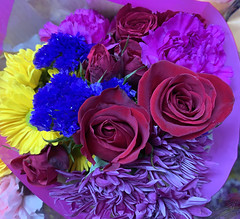 Spring bouquet at Trader Joe's (carpingdiem) Tags: indianapolis spring 2019 flowers traderjoes