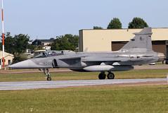 9244 (GH@BHD) Tags: 9244 saab jas39 jas39c grippen czechairforce riat riat2017 royalinternationalairtattoo raffairford fairford aircraft aviation military fighter strikeaircraft