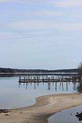 Marina in Naples, Maine (pegase1972) Tags: us usa maine naples unitedstates marina pole reflection