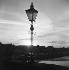 Morning Light I (bigalid) Tags: film 120 6x6 coronet 66 rexflash march 2019 fomapan 100iso dumfries bw fixedfocus vintage devorgilla bridge nith lamp
