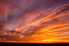 Staying In Between the Lines (Thomas Hawk) Tags: america lascruces newmexico organmountains organmountainsdesertpeaksnationalmonument usa unitedstates unitedstatesofamerica sunset