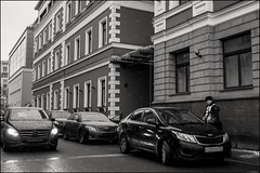 17drb0401 (dmitryzhkov) Tags: urban outdoor life human social public stranger photojournalism candid street dmitryryzhkov moscow russia streetphotography people bw blackandwhite monochrome