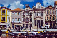 Aveiro (jansterino) Tags: portugal aveiro boat moliceiro colourful canal travel nikon d3300 sigma sigmalens 18200
