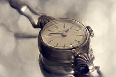 Old silver watch (Hans Lambregts) Tags: lookingcloseonfriday silvercoloured