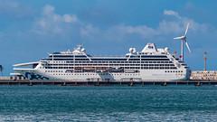 Fortaleza (alcirgomesadv) Tags: canon t6 eos rebel night sea beach fortaleza ceará cruise ship vessel brasil brazil