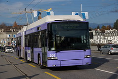 2014-11-19, Luzern, Seebrücke (Fototak) Tags: trolleybus filobus obus swisstrolley hess valiant vbl luzern switzerland ligne7 206
