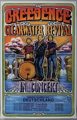 Credance Clearwater Revival 1971 Tour Poster from Germany. Super Rare!!! (rockinred1969) Tags: germany german concert tour poster band johnfogerty roll rock 1970 1968 1969 1971 ccr