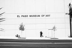 El Paso Museum of Art (Thomas Hawk) Tags: america elpaso texas usa unitedstates unitedstatesofamerica yournewmodernworld bw