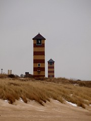 Leuchttürme an der Nordsee (photohml) Tags: photograf leuchtturm lighthouse nordsee northsea strand beach holland niederlande netherland travel urlaub vacation reise olympus zuiko e420 40150 dslr fourthirds oly